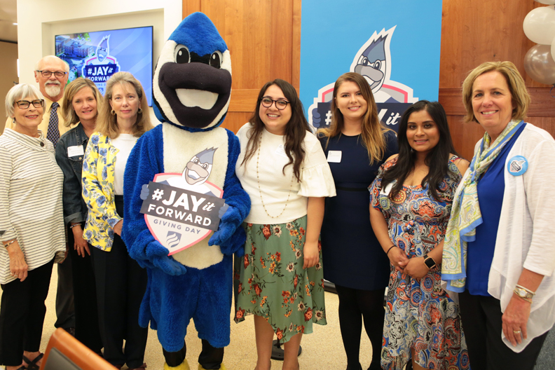 Elmhurst College alumni, friends, students, faculty and staff gathered for the Scholarship Breakfast on Thursday, May 3.