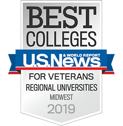 Best Regional Universities Midwest - For Veterans, U.S. News & World Report (2019)