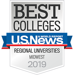 Best Regional Universities Midwest, U.S. News & World Report (2019)
