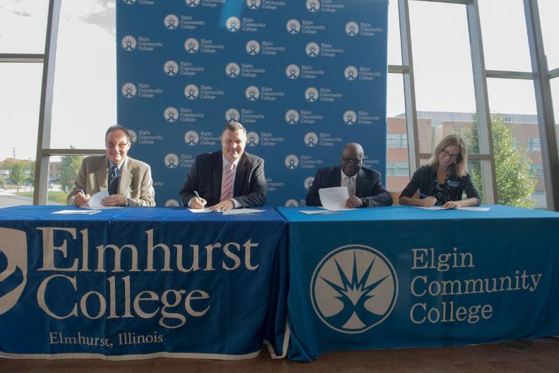 Elmhurst College, Elgin Community College Announce Enhanced Transfer