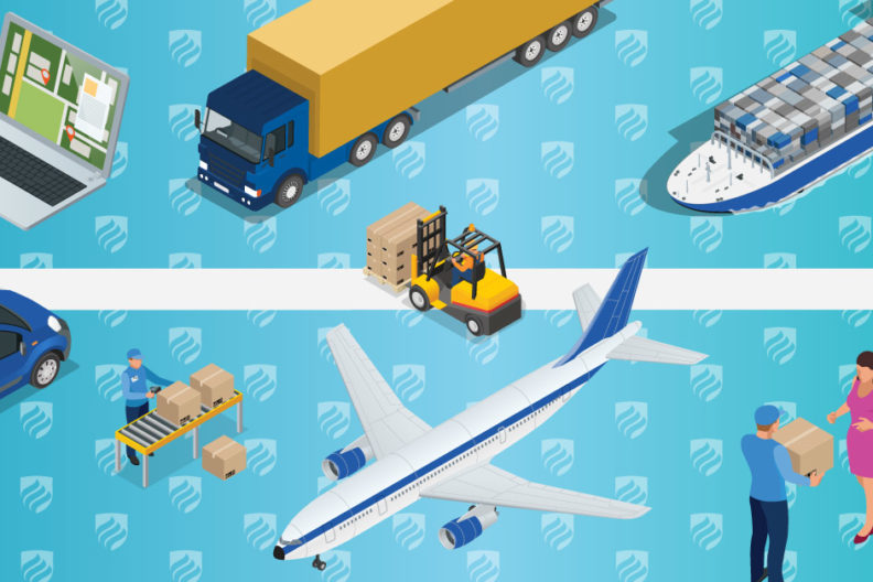 What is supply chain management? In a nutshell, it's the business of getting materials around the globe.