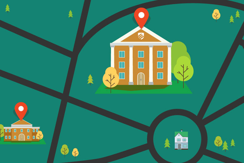 """How to Find the Best Colleges Near Me"" illustration thumbnail"