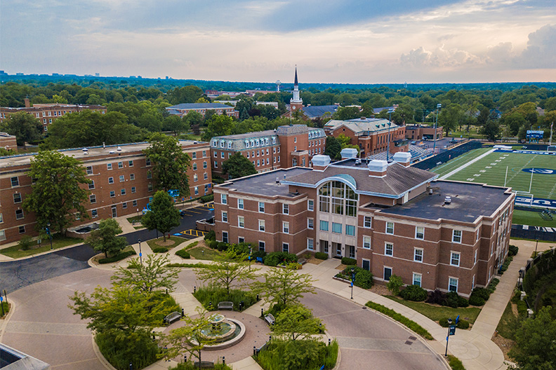 Elmhurst College's campus will host its first class of digital media program majors in the fall of 2019.