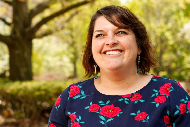 Andrea Krieg, assistant professor of criminal justice at Elmhurst College.