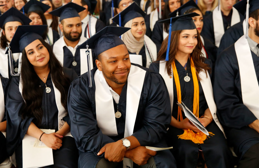 More than 1,000 students graduated from Elmhurst in 2019.