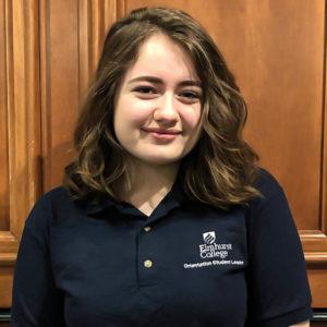 Orientation student lead Kiara McGee.