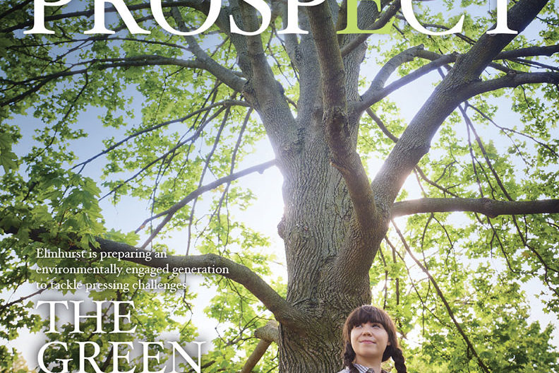 Cover image of the Summer 2019 issue of Prospect, the magazine of Elmhurst College.