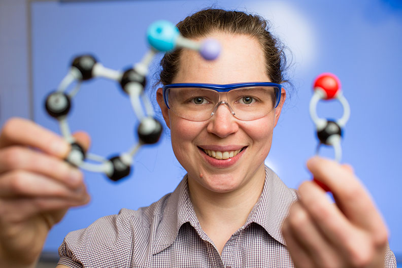 Colleen Munro-Leighton is a chemistry professor at Elmhurst College.