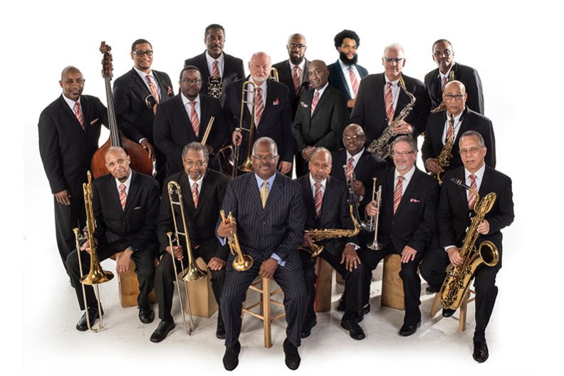 The Count Basie Orchestra is pictured.