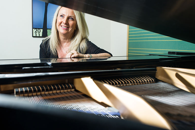 Jennifer Mather is a member of the Elmhurst College music faculty.