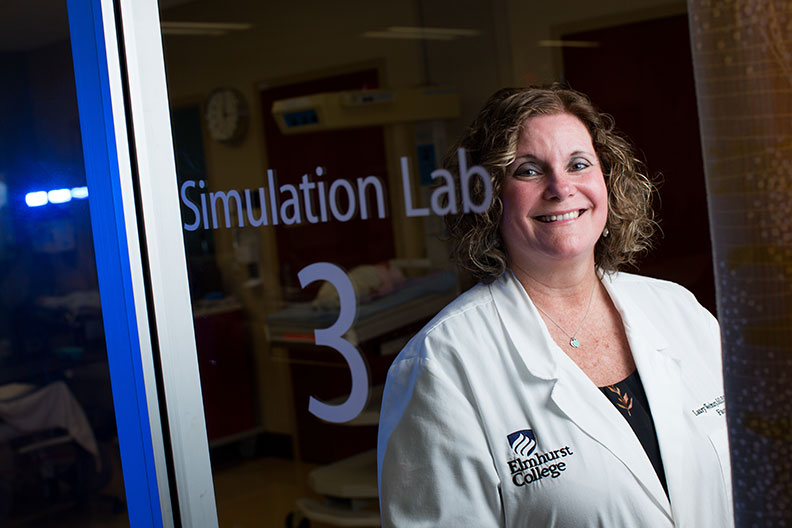 Laury Westbury is the director of Elmhurst College's Simulation Center at Elmhurst Memorial Hospital.