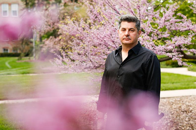 Elmhurst College professor of Religious Studies Mladen Turk.