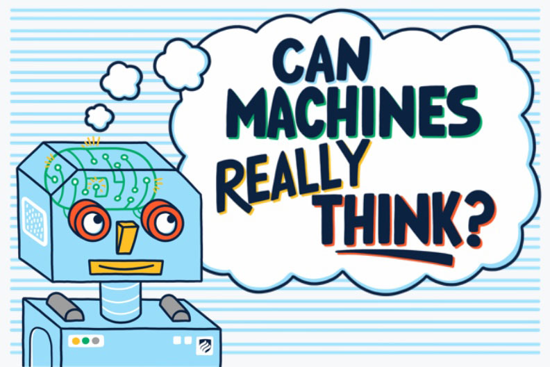 Can machines think? The answer might surprise you, given the great strides that have been made in machine learning.