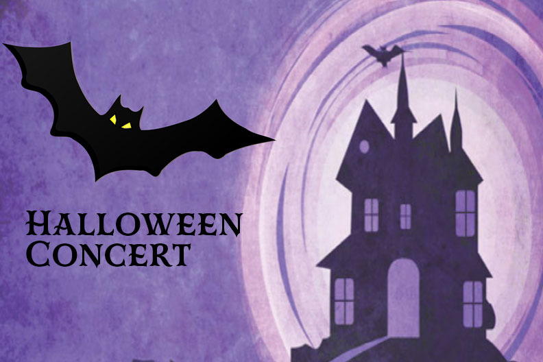 The Elmhurst College Wind Ensemble will perform classic spooky tunes in a Halloween concert October 30, 2019.