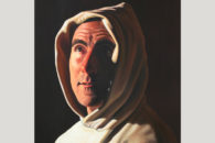 "The portrait painting ""I'm Not Zurbaran,"" by artist and Elmhurst College faculty member Rafael Blanco."