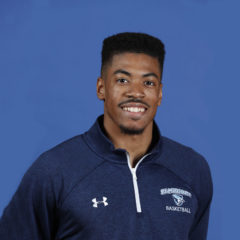 Will Lyles is a computer science major and basketball player at Elmhurst College.