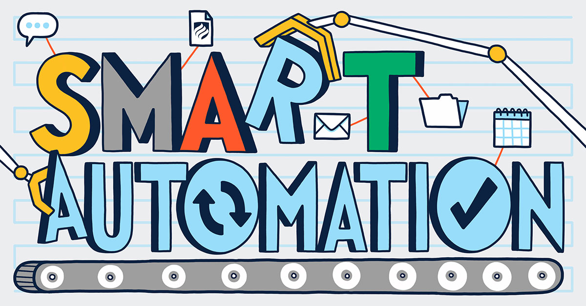 Intelligent automation combines the capabilities of robotic process automation (RPA) with machine learning to increase performance and efficiency.