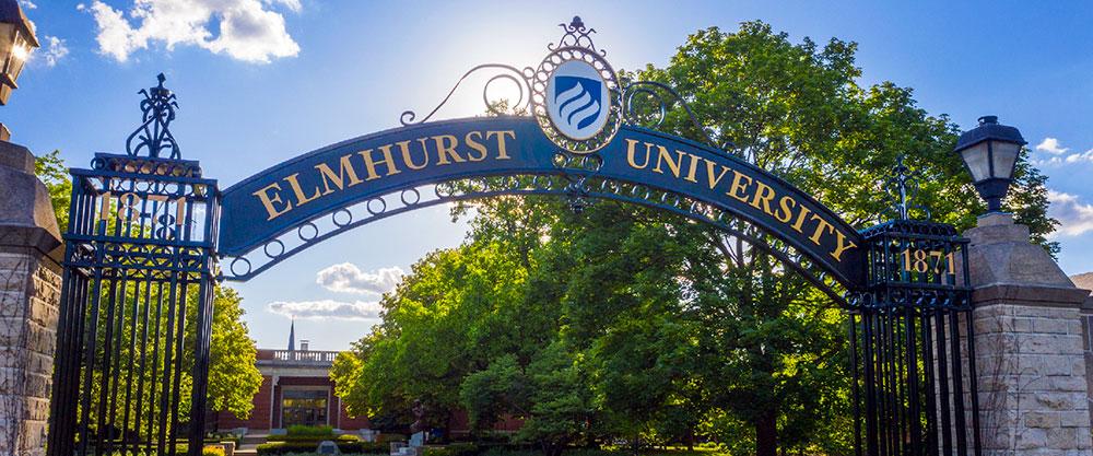 Elmhurst University Gates of Knowledge