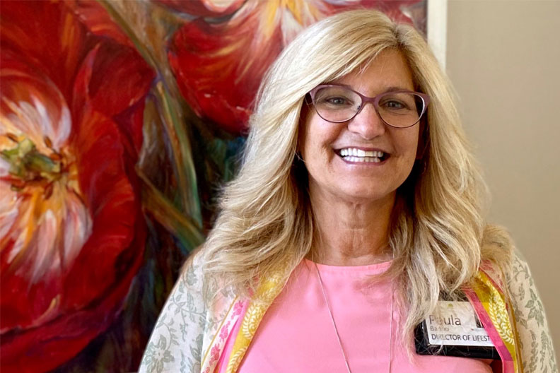 Elmhurst College alumna Paula Banno '13 has used her education to advance in the senior care industry.
