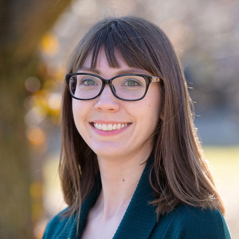 Heather Forster Jensen, member of the Elmhurst University Alumni Association Board of Directors.