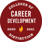 Colleges of Distinction 2020-2021 Recognition for Career Development