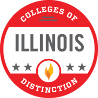 Colleges of Distinction 2020-2021 Recognition for Illinois