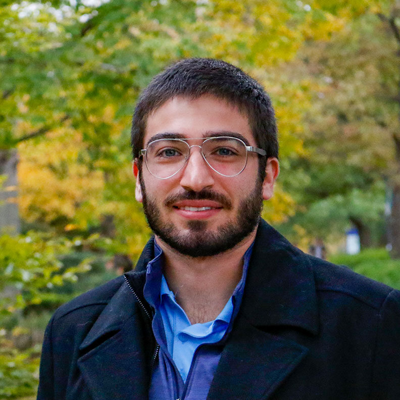 Zach Taylor, admission counselor at Elmhurst University