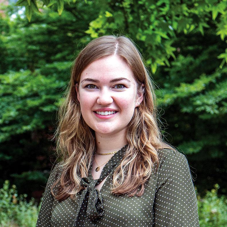 Photo of Sophie Lichlyter, admission counselor at Elmhurst University.