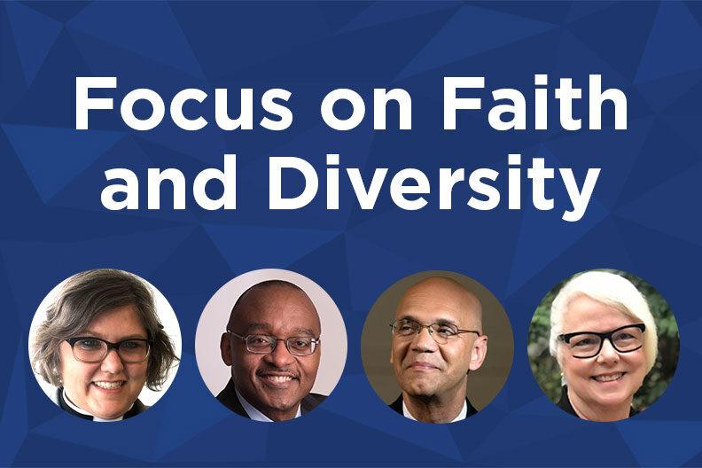 Focus on Faith and Diversity: Nancy Neal, Brad R. Braxton, Derrick Harkins, and Alice Hunt