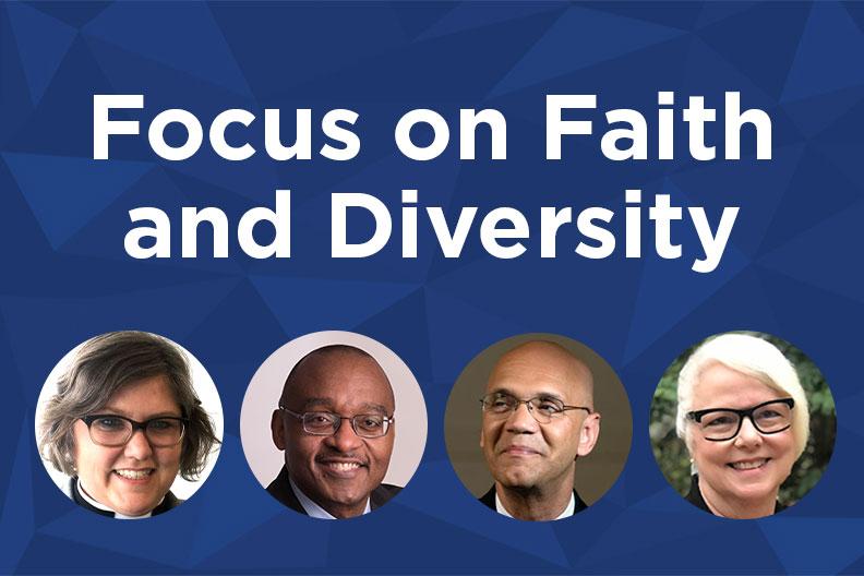 Focus on Faith and Diversity: Nancy Neal, Brad R. Braxton, Derrick Harkins and Alice Hunt
