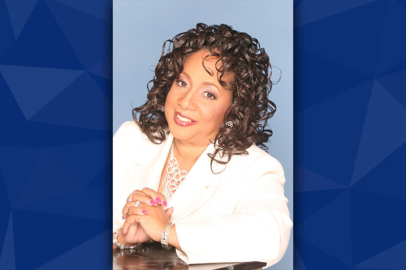 Professional photo of Sheyann Webb-Christburg.