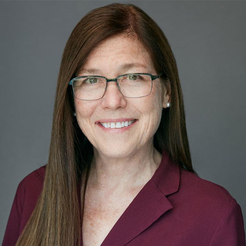 Elmhurst University faculty member Diane Morean