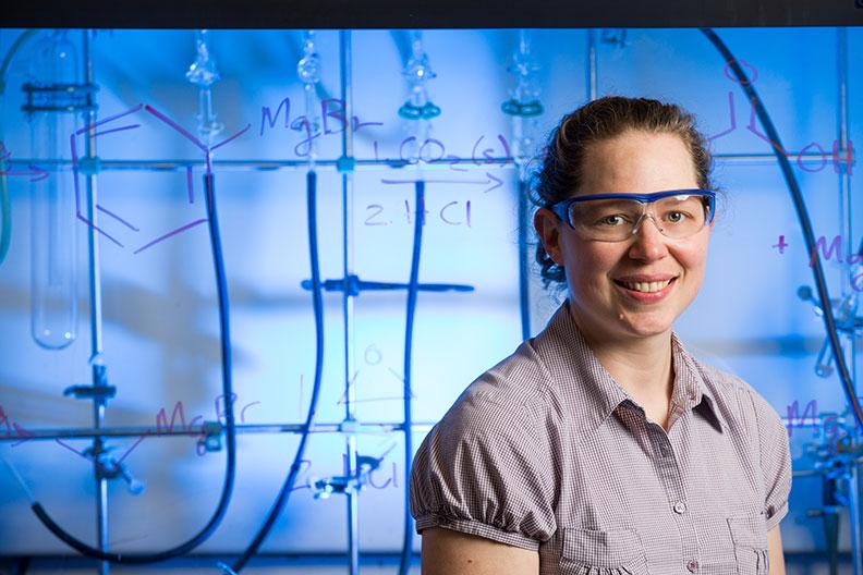 Colleen Munro-Leighton is a chemistry professor at Elmhurst University.