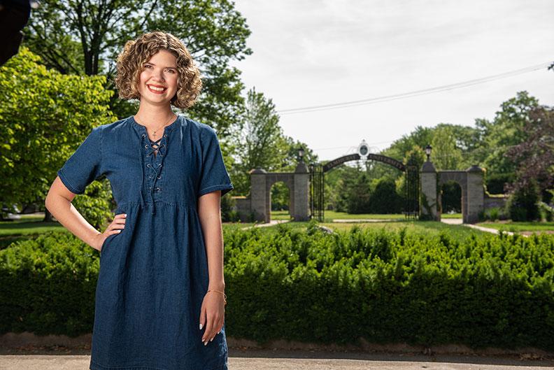 Elmhurst University graduate Amanda O'Brien