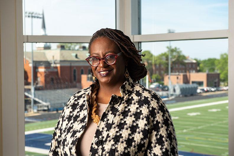 Elmhurst University Associate Professor of Education Ayanna F. Brown, Ph.D.