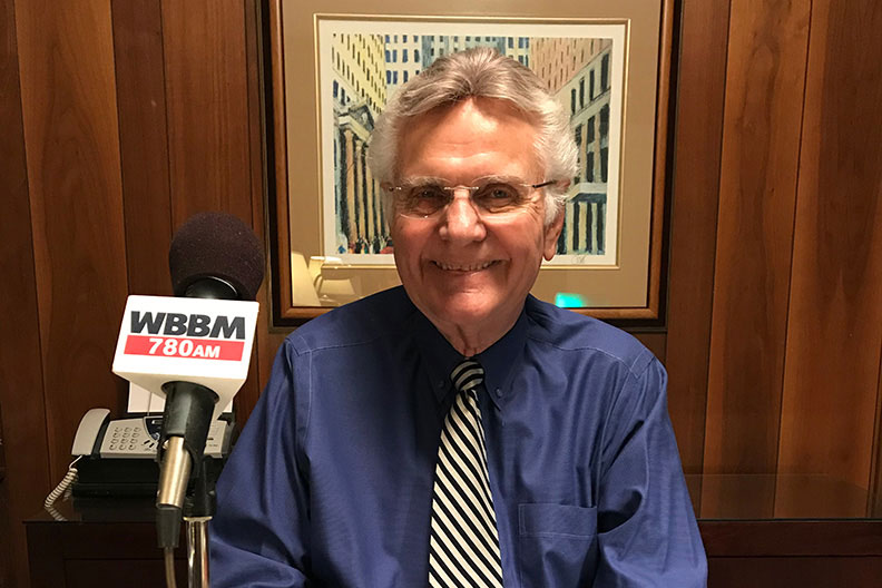 Photo of Chicago business reporter and Elmhurst University