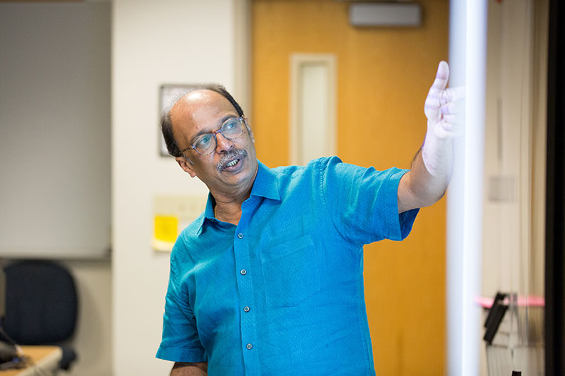 Roby Thomas, professor of supply chain management at Elmhurst University.