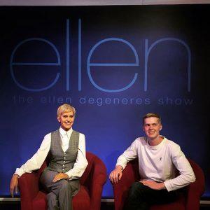 Alexander Eddy, wax figure of Ellen DeGeneres