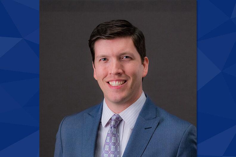 Andrew Knap, vice president for institutional advancement at Elmhurst University